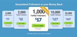  Buy Real Twitter Followers Acquires Quick Twitter Followers