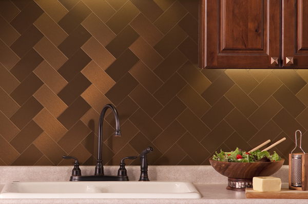 Fasade Faux Metal Backsplash From Backsplashideas Comthis Faux Metal Backsplash Panel Can Transform Any Kitchen Decor