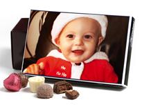 Personalised chocolate box through pictures