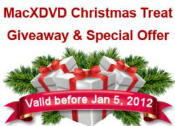 MacXDVD Christmas Giveaway and Special Offer