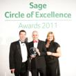 Pinnacle receiving Sage Circle of Excellence 2011