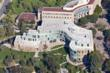 Aerial view of UC-Irvine Humanities Gateway Building