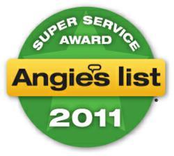 Angie's List 2011 Super Service Award