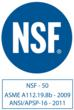 The SDC 600 is Certified by the NSF.