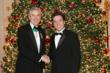 Mr. Mark Pigott, Savoy Orders Scholarship Benefactor, with first Scholarship Recipient, Helyett Harris
