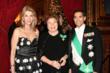 (l to r):  Ms. Vivian Cardia, Baroness Mariuccia Zerilli-Marimò with Carl J. Morelli, Chairman of the Board of the American Foundation of Savoy Orders