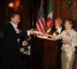 Mr. Anthony Viscogliosi receives Ballo Raffle Gift