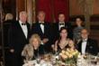 Baroness Maya De Haynau (seated left) with guests