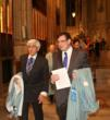 Candidates of the Savoy Orders, Mr. Frank Marino and Nicola Tegoni, Esq. in Procession to the Main Altar of St. Patrick's Cathedral before the Investiture Ceremony