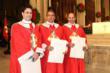 Knight Louis M. Micolucci, Knight Daniel J. McClory and  Knight Dr. Raymond L. Benza (OSSML)