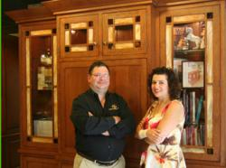 Patrick Kennedy, VP and Michelle Kennedy, President, Superior Woodcraft, Doylestown, PA