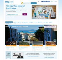 Stay.com homepage screenshot