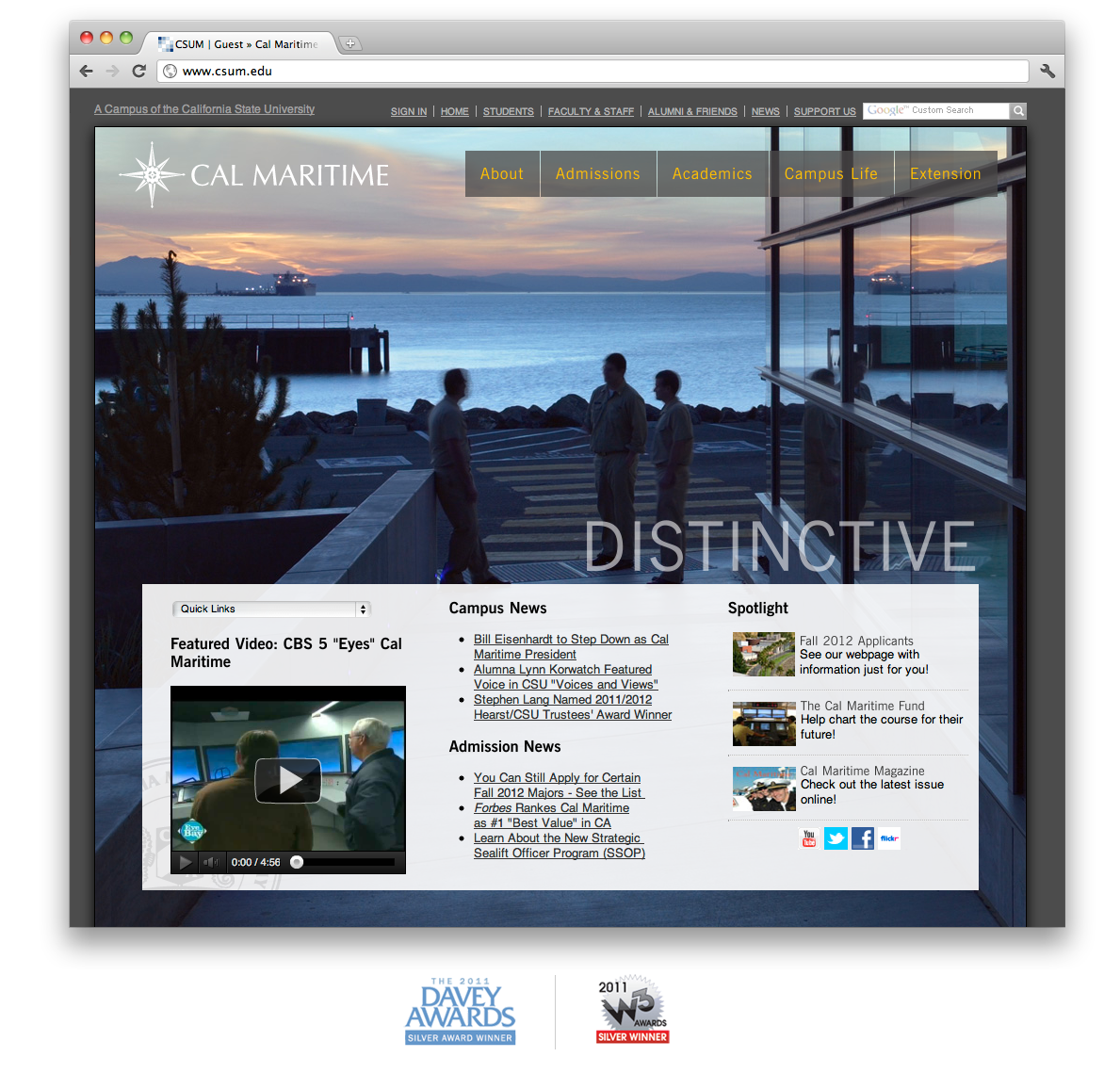 Megamad Website Design Marketing: Project6 Design Awarded Two Honors For Energy And