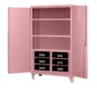 Breast Cancer Awareness Pink Elephant Storage Cabinet