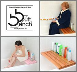 Bath Extras LLC Introduces The Butt Bench, The All In One Bathtub Seat: