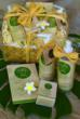 Hawaiian spa gift basket