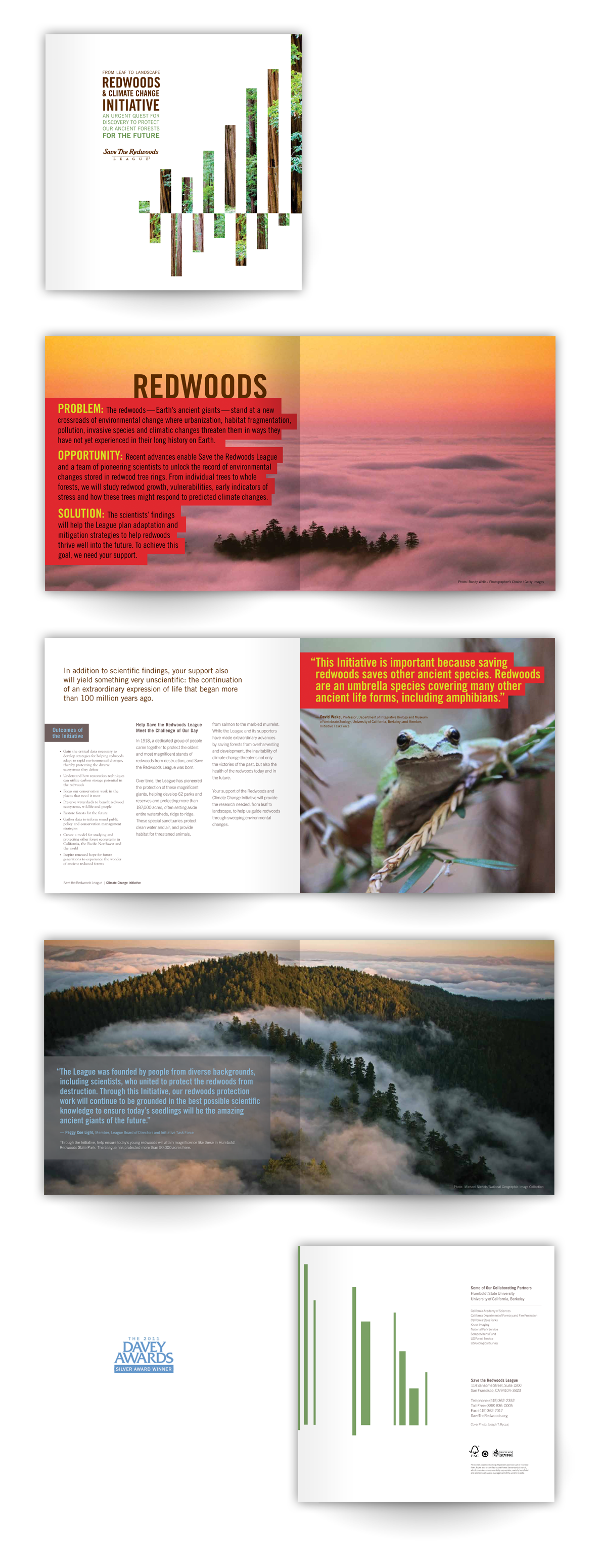 award winning brochure designs - project6 design a bay area branding and design firm wins