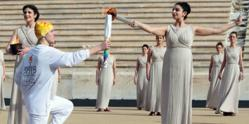 Youth Olympic flame lights up for Innsbruck 2012