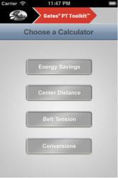 Gates PT Toolkit Mobile App