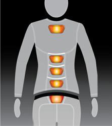 Toast Heated Clothes | heat illustration | heated long underwear