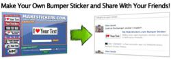 Make Your Own Bumper Sticker and Share With Your Friends!