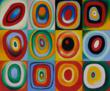 Kandinsky - Farbstudie Quadrate (Color Study of Squares)