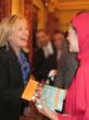"Zahra Suratwala presents ""I Speak for Myself"" to Sec. of State Hillary Clinton"
