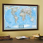 Personalized wall maps by National Geographic.
