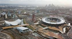 New aerial images show Olympic Park transformation on eve of Olympic and Paralympic year
