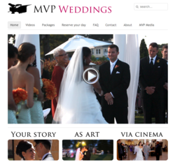 MVP Weddings - Your Story As Art Via Cinema