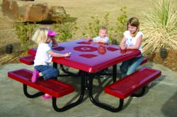 Child Height Picnic Table