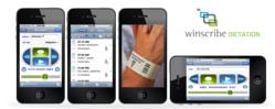 Winscribe for iPhone and Winscribe MD now feature a new User Interface and Barcode technology