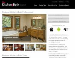 Homeowners Benefit From The Latest Enhancements To The Kitchen Bath Channel Website Including
