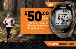 timex run trainer, gps watch