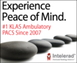 Intelerad Ranked Number One in KLAS Ambulatory  PACS Again