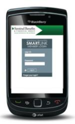 Mobile employee benefits application for 401k and FSA accounts