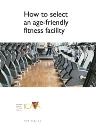 Checklist helps older adults select a fitness center that's right for them.