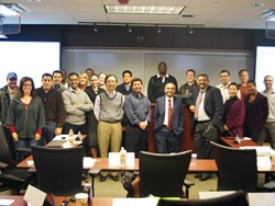 Deepak Datta talks about Medical Tourism with UTA MBA students