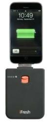 rechargeable backup battery for iphone, ipod, ipod touch