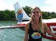 Julie Ann Floyd, pilot and co-owner of Key West Seaplanes