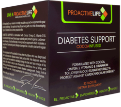 To lower blood sugar and protect against cardiovascular disease for people with Type 2 Diabetes