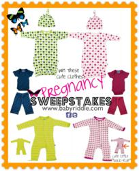 Win these highly addictive and ridiculously soft newborn clothes in Baby Riddle's Pregnancy Sweepstakes.