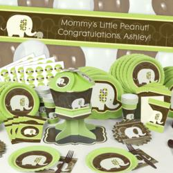 Personalzied Elephant-Themed Party Supplies