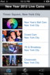 EarthCam's New Year's app lets viewers see the live streaming cams in Times Square.