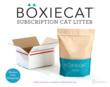 Boxiecat subscription cat litter service - www.boxiecat.com