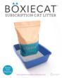 Boxiecat subscription cat litter service - www.boxiecat.com