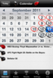 MMAvsBoxing.com Combo Calendar iPhone App is Now Available on the...