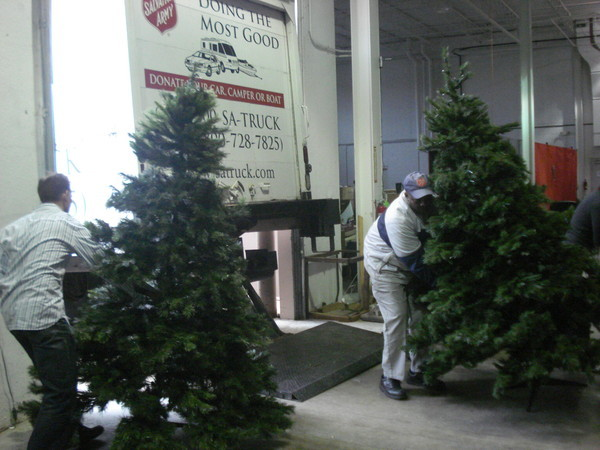 TreeTime™ and The Salvation Army's Annual Artificial Christmas ...