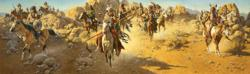 On The Old North Trail - Frank McCarthy - World-Wide-Art.com