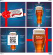 Samuel Adams Creates Excitement for the Holidays with Origami Coaster